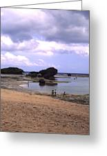 Okinawa Beach 3 Greeting Card