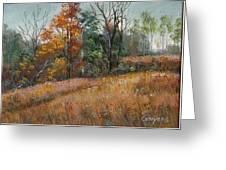 Oklahoma Autumn Greeting Card