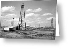 Oklahoma Crude Greeting Card