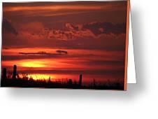 Oklahoma Sky At Daybreak  Greeting Card