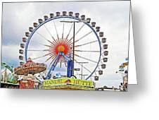 Oktoberfest 2010 Munich Greeting Card