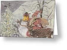 Ol' Saint Nick Greeting Card