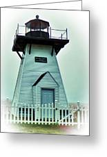 Olcott Lighthouse Greeting Card