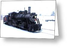 Old 89 Is Passing By Greeting Card
