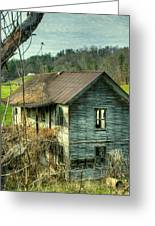Old Abandoned Home Greeting Card
