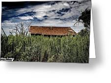 old abandoned house Texico NM Greeting Card