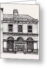 Old Abbey Theatre 1 Dublin Greeting Card