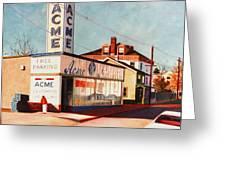 Old Acme Lambertville Nj Greeting Card