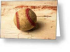 Old American Baseball Greeting Card
