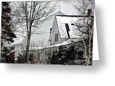 Old Andersson Farmstead Greeting Card