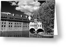 Old Architecture  Nuremberg Greeting Card