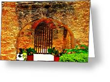 Old Archway  Greeting Card
