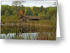 Old Bait Shop On Twin Lake_9626 Greeting Card