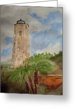 Old Baldy Greeting Card