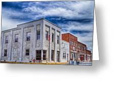 Old Bank Building - Peterstown West Virginia Greeting Card