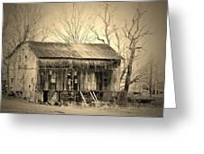 Old Barn-1 Greeting Card