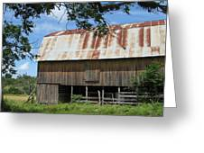 Old Barn 1 Greeting Card