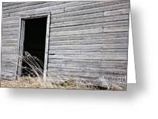 Old Barn 2 Greeting Card