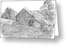 Old Barn 3 Greeting Card