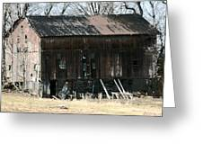 Old Barn-6 Greeting Card