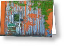 Old Barn Doors  Greeting Card