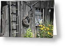 Old Barn II Greeting Card