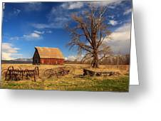 Old Barn In Chester Greeting Card