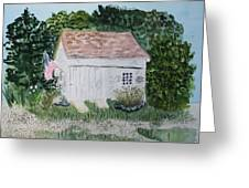 Old Barn In Eastham Ma Greeting Card