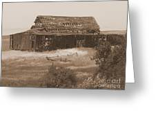 Old Barn In Oregon Greeting Card