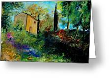 Old Barn In Provence  Greeting Card