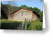 Old Barn In Tennessee Greeting Card