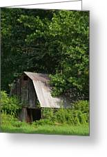Old Barn. Greeting Card
