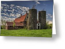 Old Barn Near Sedalia Mo Dsc01900 Greeting Card