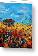 Old Barn  Greeting Card by Pol Ledent