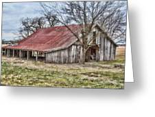 Old Barn Greeting Card
