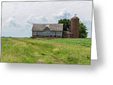 Old Barn Country Scene 4 A Greeting Card