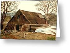 Old Barn Series 1 Greeting Card
