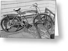 Old Bike Greeting Card