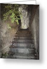 Old Bisbee Stairway Greeting Card