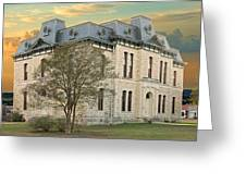 Old Blanco Courthouse Greeting Card