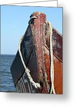 Old Boat Greeting Card
