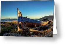 Old Boats#1 Greeting Card