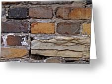 Old Bricks Greeting Card