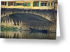 Ponte Vecchio Protection Greeting Card