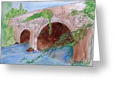 Old  Bridge In Ireland Greeting Card