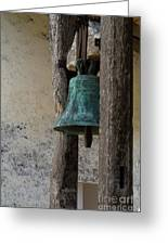 Old Bronze Bell Greeting Card