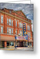 Old Brown Theater - Wapak Theater Greeting Card