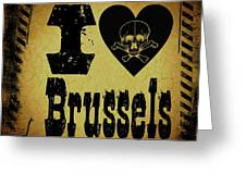 Old Brussels Greeting Card