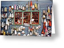 Old Buoys Greeting Card