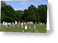 Old Burial Ground Greeting Card